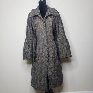 Mackage heeeingbone trench coat